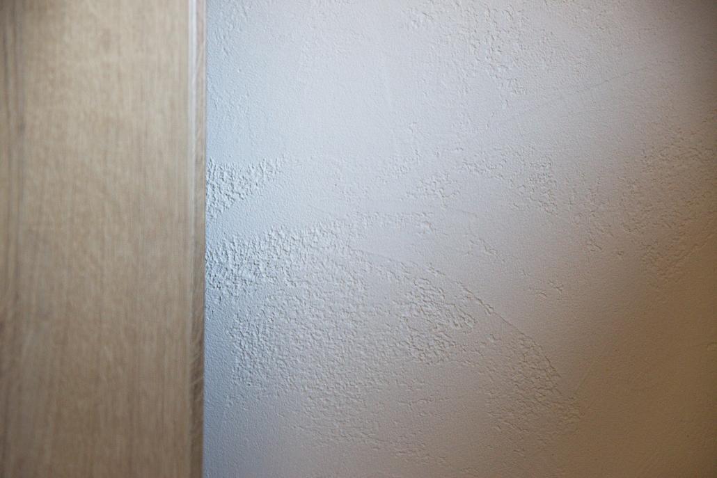 detail betonové stěrky